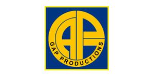 Logo de la société GAP Productions, adhérent du groupement d'employeurs Progressis