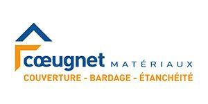 Logo de la société Coeugnet Matériaux, adhérent du groupement d'employeurs Progressis