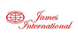Logo de la société James International, adhérent du groupement d'employeurs Progressis